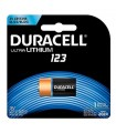 Pila LM123 3V Ultra litio Duracell